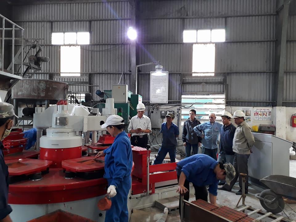 Công ty CP Long Thọ đầu tư dây chuyền sản xuất gạch lát Terrazzo công nghệ hiện đại