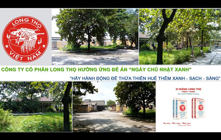 """Hưởng ứng Đề án Ngày Chủ nhật xanh  """"Hãy hành động để Thừa Thiên Huế thêm Xanh - Sạch - Sáng"""""""